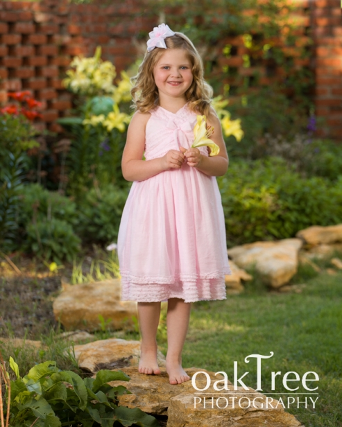 An outdoor portrait of a young girl in Claremore,           Oklahoma,      taken by Oak Tree Photography