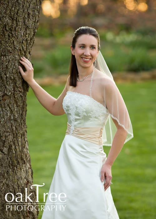A Beautiful Bride in Claremore,           Oklahoma